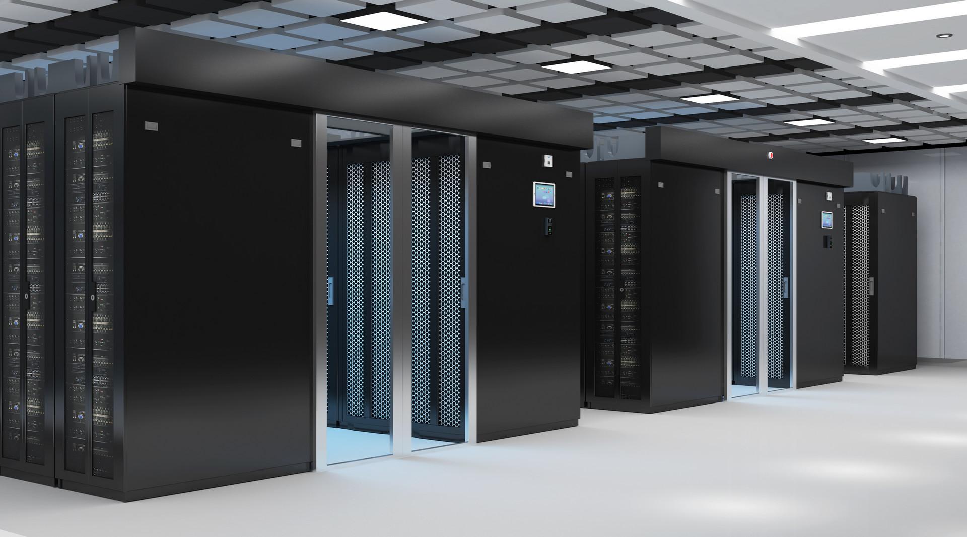 数据中心服务器机房场景