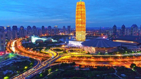 摄图网_501624836_banner_郑州东城市夜景(企业商用)