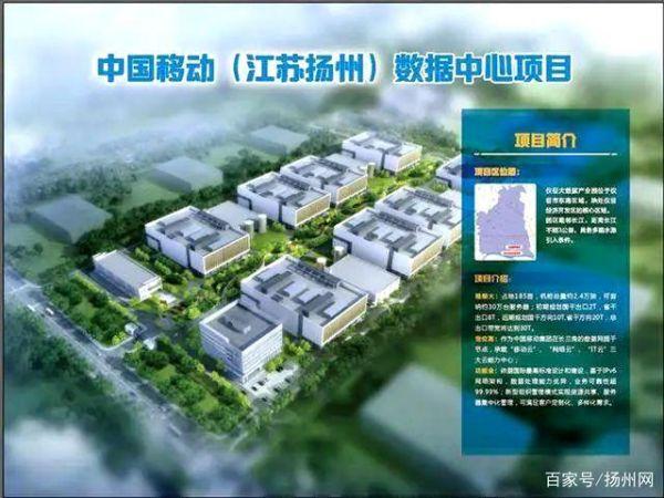 中国移动长三角(扬州)数据中心效果图