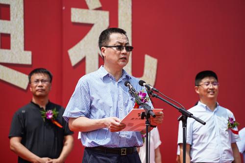 廊坊高新区党工委副书记、管委会常务副主任郭海峰